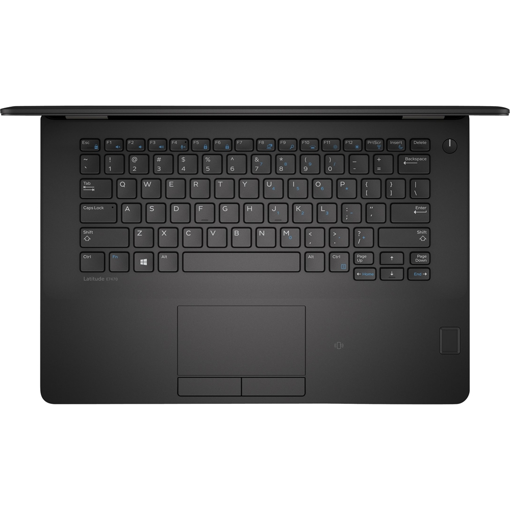 """Alt View Zoom 12. Dell - Latitude 14"""" Refurbished Laptop - Intel Core i7 - 8GB Memory - 512GB Solid State Drive - Black."""