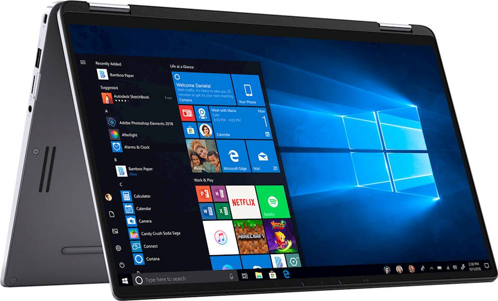 "Alt View Zoom 11. Dell - Latitude 2-in-1 14"" Touch-Screen Laptop - Intel Core i7 - 16GB Memory - 512GB Solid State Drive."