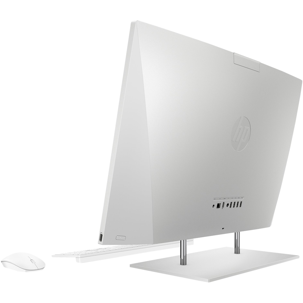 """Back Zoom. 27"""" Touch-Screen All-In-One - Intel Core i7 - 16GB Memory - 512GB SSD - HP Finish In Natural Silver."""