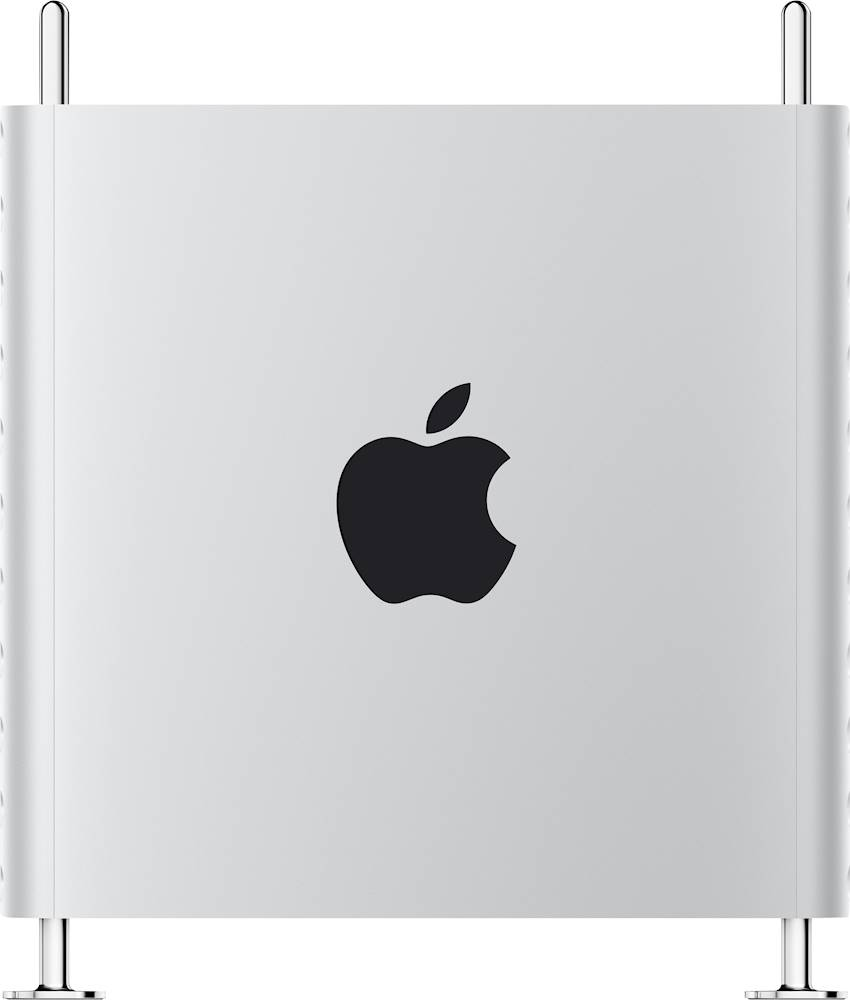 Alt View Zoom 12. Apple - Mac Pro Desktop - 8-core - Intel Xeon W - 48GB Memory - 1TB SSD - Silver.