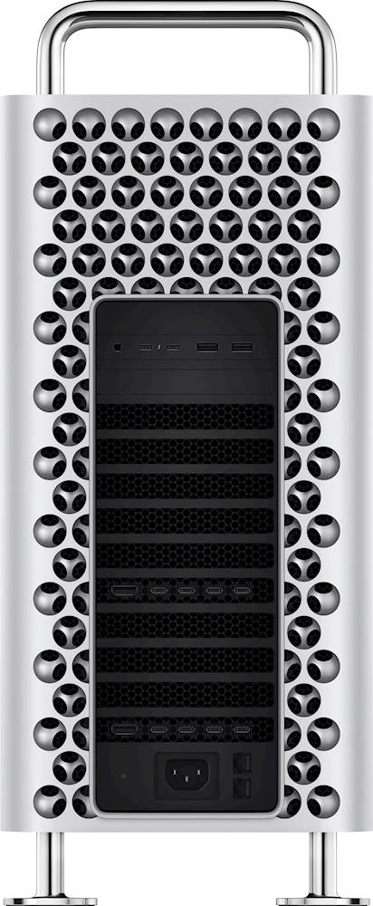 Alt View Zoom 13. Apple - Mac Pro Desktop - 8-core - Intel Xeon W - 48GB Memory - 1TB SSD - Silver.