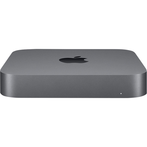 Front Standard. Apple - Mac mini Desktop - Intel Core i3 - 16GB Memory - 256GB Solid State Drive - Space Gray.