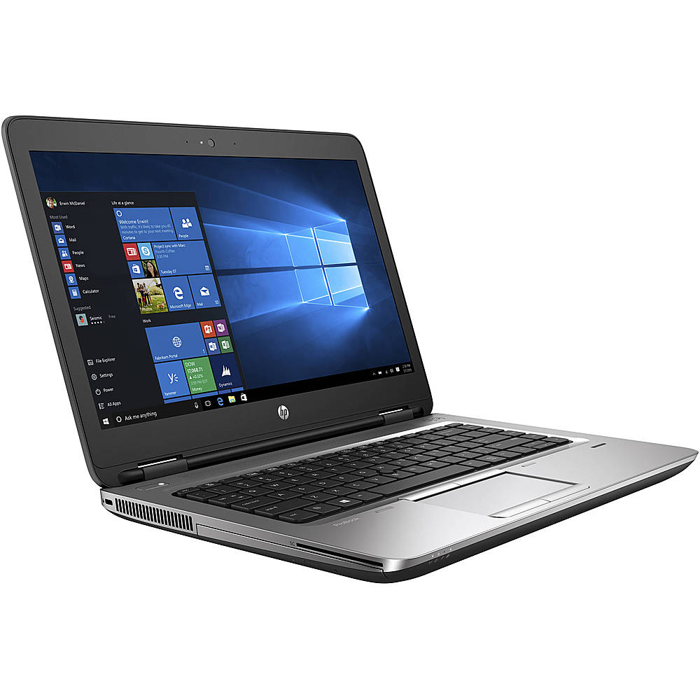 "Angle Zoom. HP - ProBook 640 G1 14"" Refurbished Laptop - Intel Core i5 4300M - 8GB Memory - 500GB HDD."