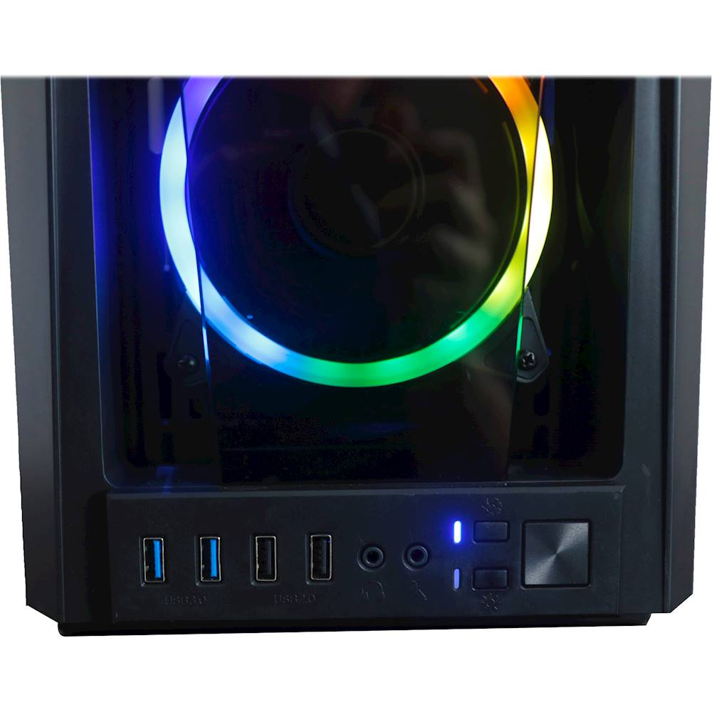 Alt View Zoom 14. CLX - SET Gaming Desktop - AMD Ryzen 9 3900X - 32GB Memory - 2 x NVIDIA GeForce RTX 2080 Ti - 6TB Hard Drive + 1TB SSD - Black/RGB.