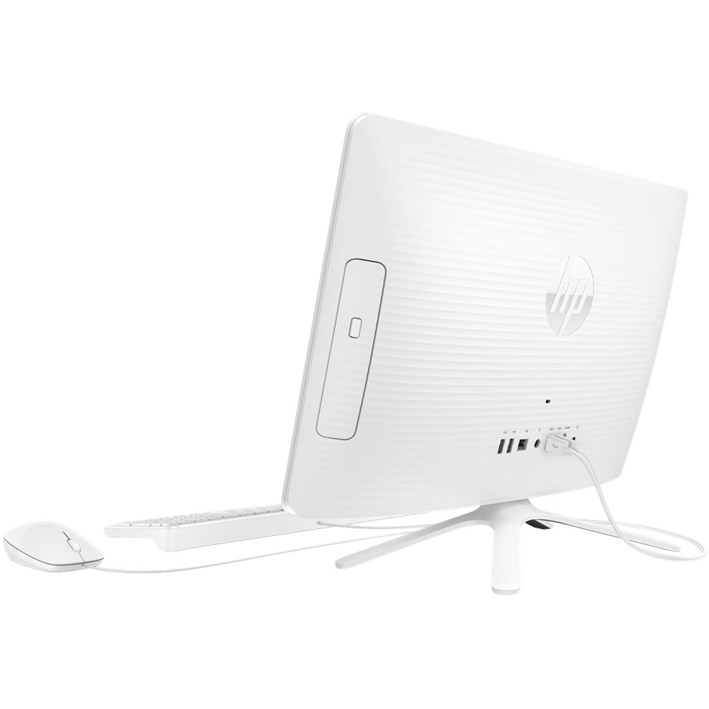"""Back Zoom. HP - Pavilion 23.8"""" All-In-One - Intel Pentium - 8GB Memory - 1TB Hard Drive - Snow White."""