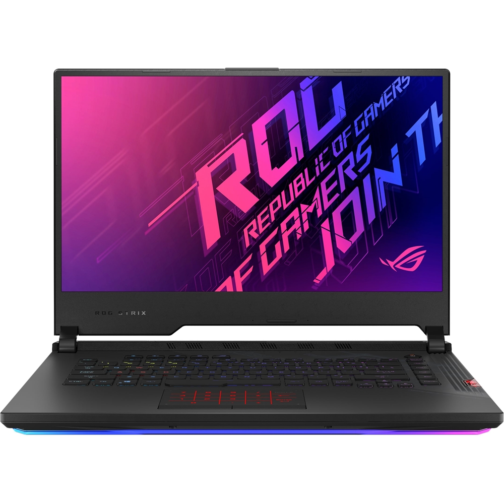 "Front Zoom. ASUS - ROG Strix SCAR 15 15.6"" Laptop - Intel Core i7 - 16GB Memory - NVIDIA GeForce RTX 2070 SUPER - 1TB SSD - Black."