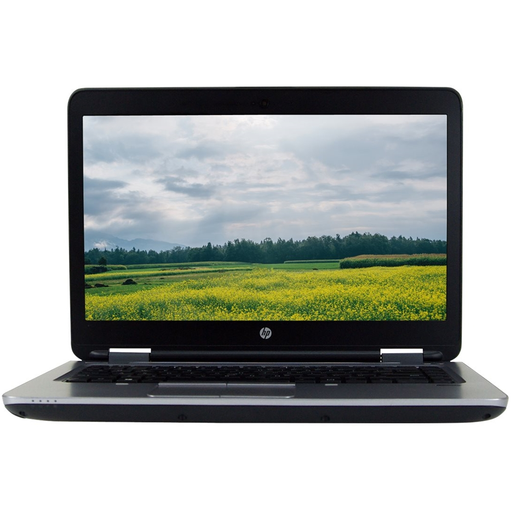 """Front Zoom. HP - ProBook 14"""" Refurbished Laptop - Intel Core i5 - 8GB Memory - 512GB Solid State Drive - Black."""