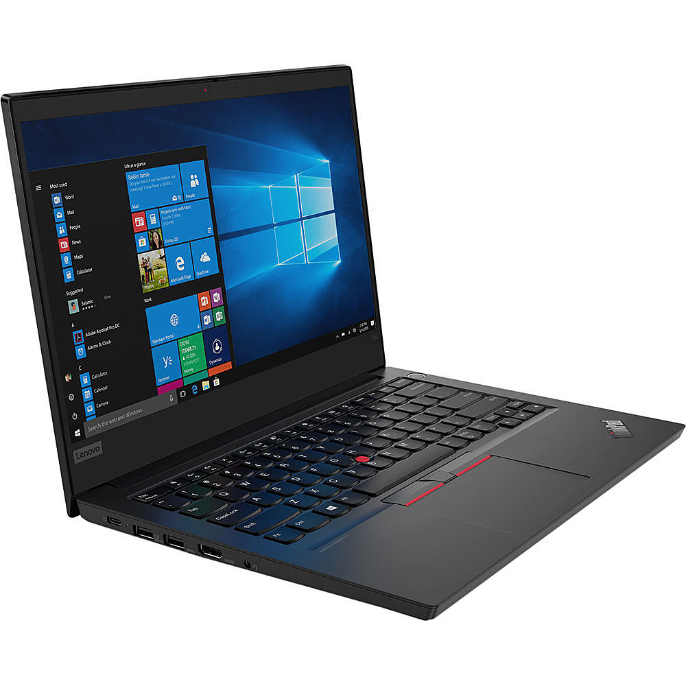 "Angle Zoom. Lenovo - ThinkPad L470 14"" Refurbished Laptop - Intel Core i5 6300u - 8GB Memory - 256GB Solid State Drive."