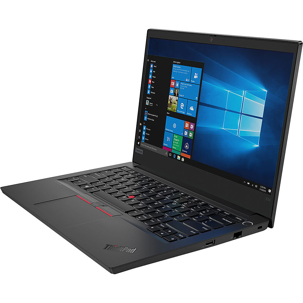 "Left Zoom. Lenovo - ThinkPad L470 14"" Refurbished Laptop - Intel Core i5 6300u - 8GB Memory - 256GB Solid State Drive."