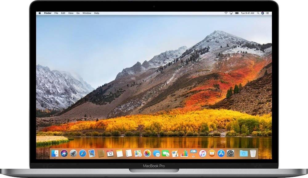 """Front Zoom. Apple - MacBook Pro 13.3"""" Laptop - Intel Core i5 - 8GB Memory - 256GB SSD - Pre-Owned - Space Gray."""