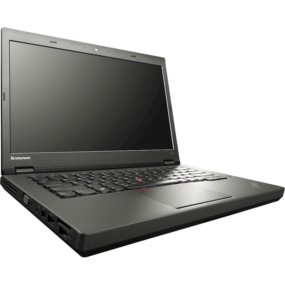 "Angle Zoom. Lenovo - Thinkpad 14"" Refurbished Laptop - Intel Core i5 - 4GB Memory - 500GB Hard Drive - Black."