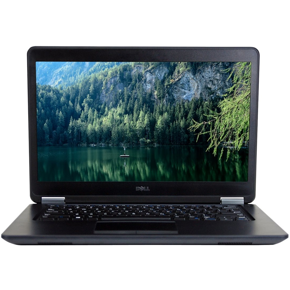 """Front Zoom. Dell - Latitude 14"""" Refurbished Laptop - Intel Core i5 - 16GB Memory - 500GB Solid State Drive - Black."""
