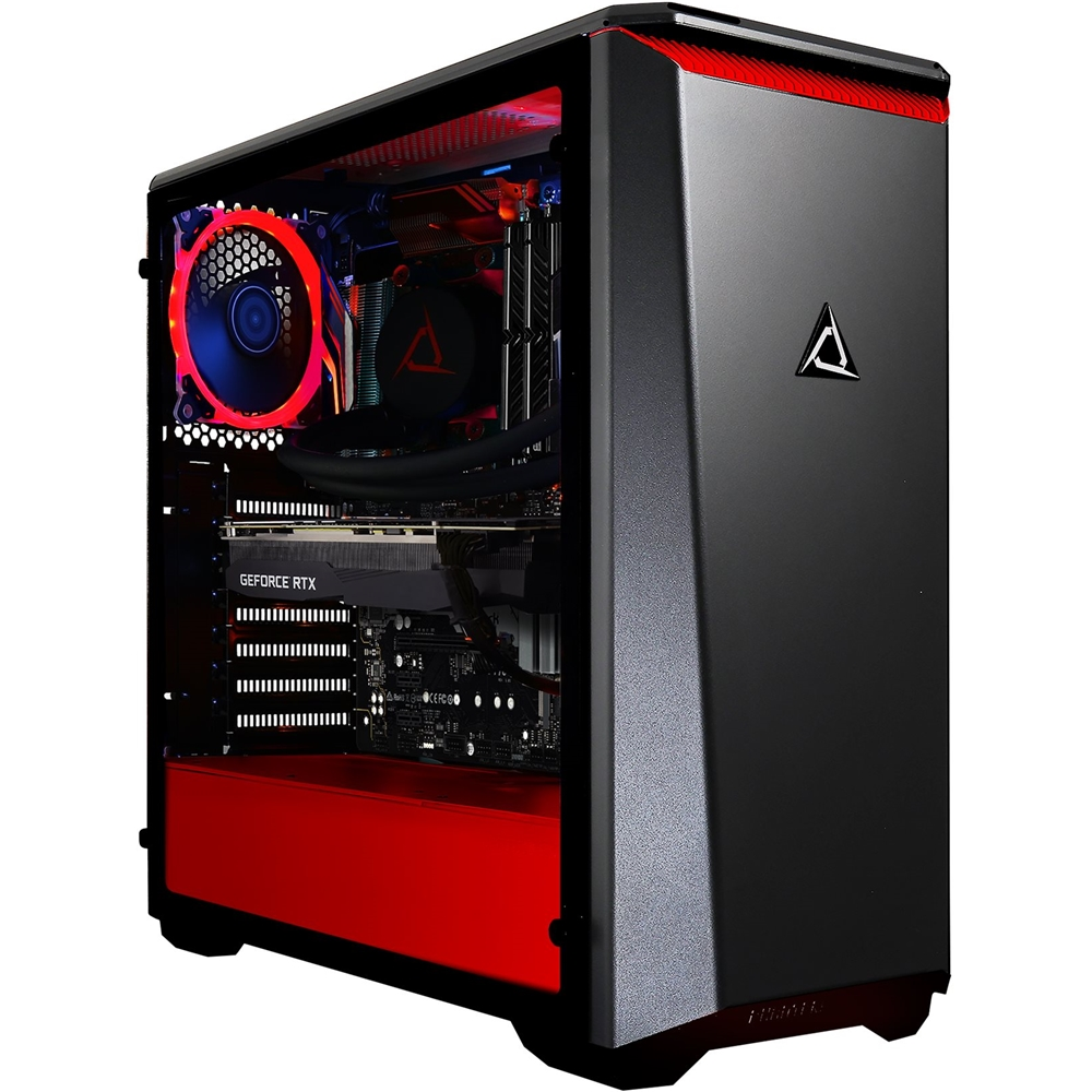 Front Zoom. CLX - SET Gaming Desktop - AMD Ryzen 9 3900X - 32GB Memory - NVIDIA GeForce RTX 2080 Ti - 3TB Hard Drive + 480GB SSD - Black/Red.