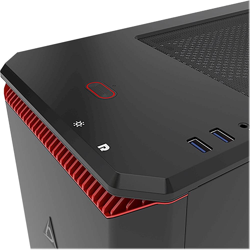 Alt View Zoom 12. CLX - SET Gaming Desktop - AMD Ryzen 9 3900X - 32GB Memory - NVIDIA GeForce RTX 2080 Ti - 3TB Hard Drive + 480GB SSD - Black/Red.