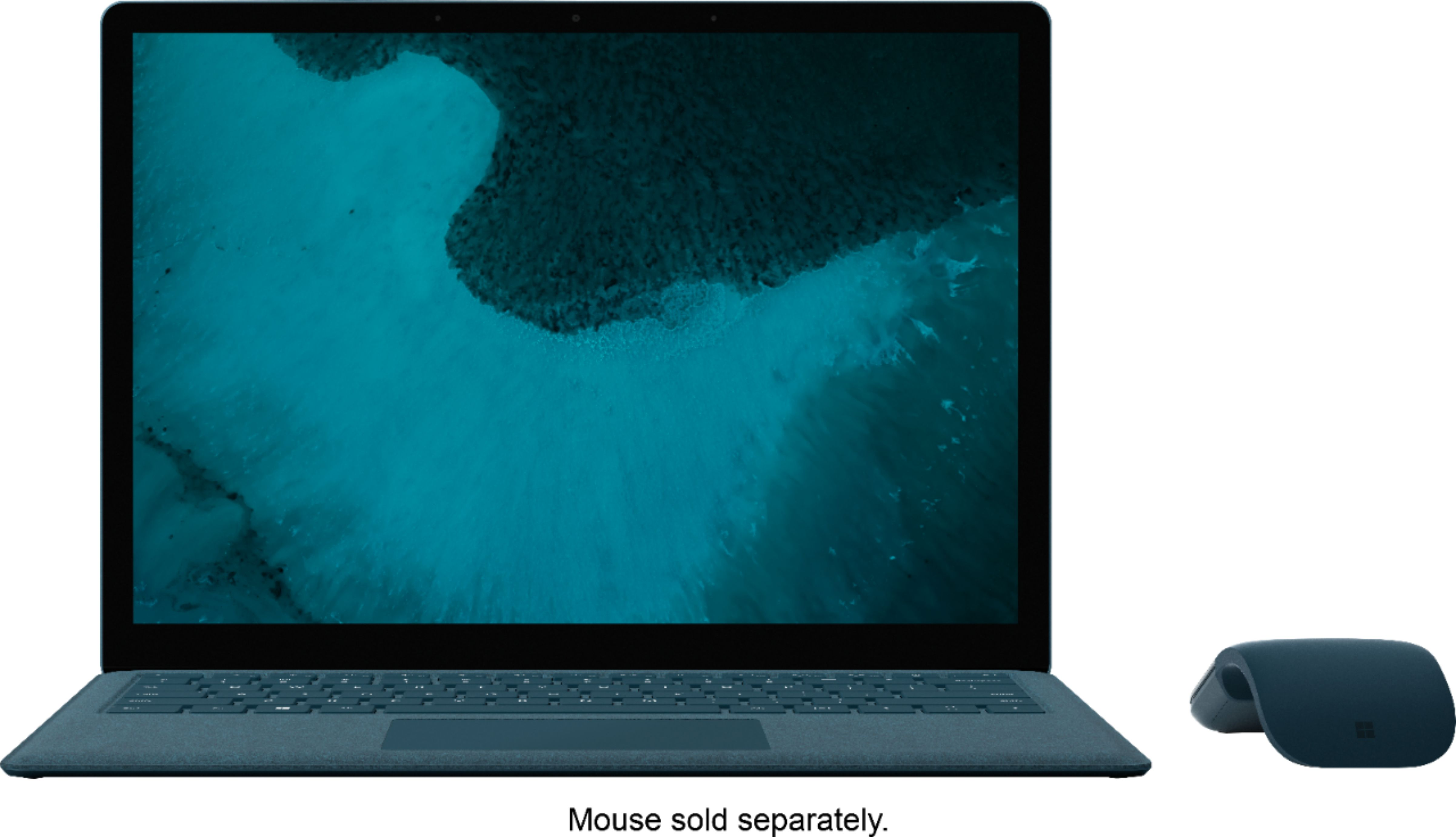 """Alt View Zoom 11. Microsoft - Geek Squad Certified Refurbished Surface Laptop 2 - 13.5"""" Touch Screen - Intel Core i5 - 8GB - 256GB SSD - Cobalt Blue."""