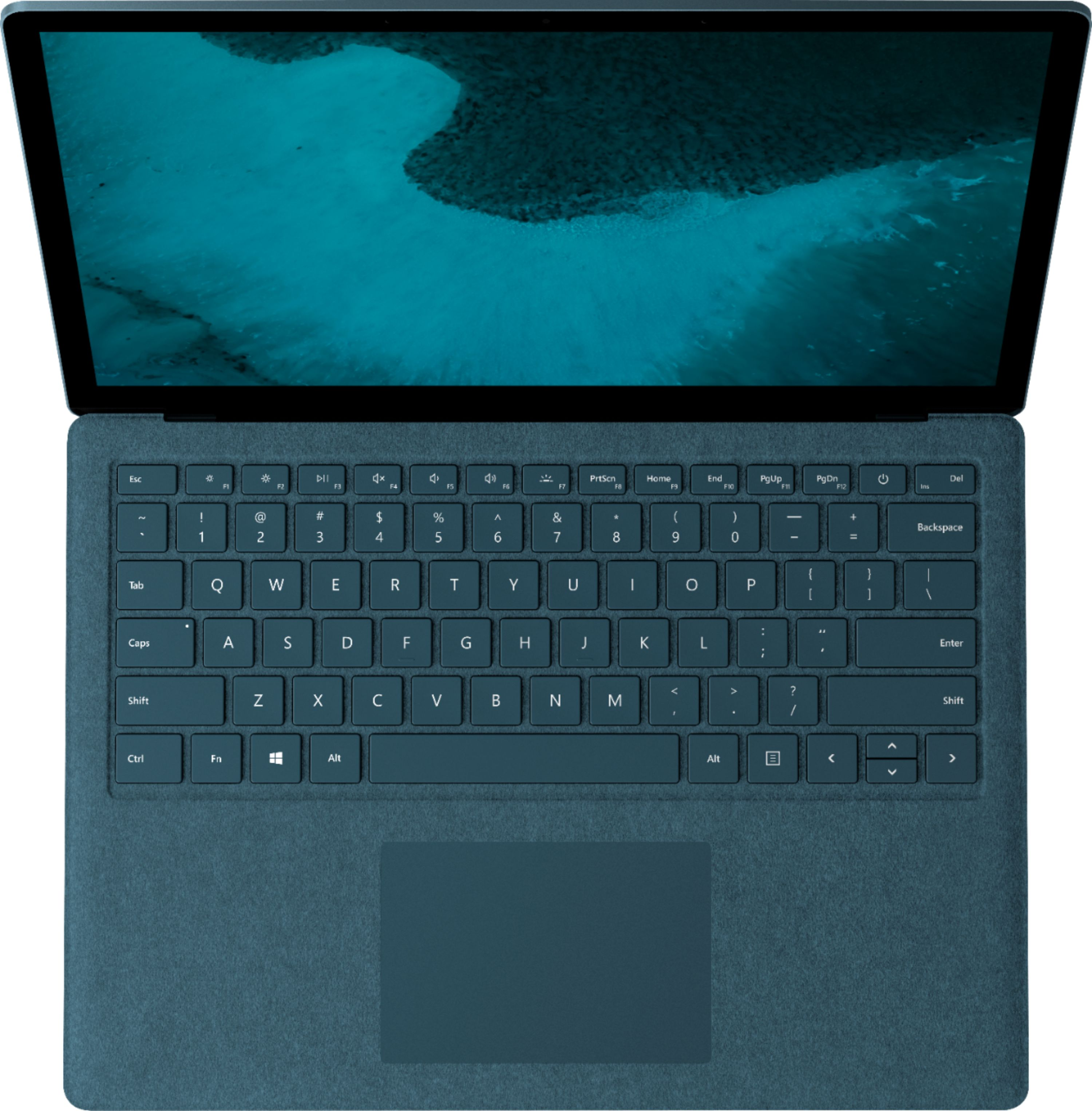 """Alt View Zoom 14. Microsoft - Geek Squad Certified Refurbished Surface Laptop 2 - 13.5"""" Touch Screen - Intel Core i5 - 8GB - 256GB SSD - Cobalt Blue."""