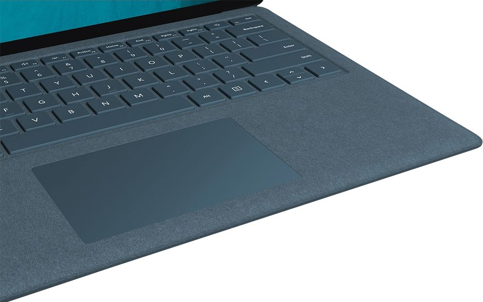"""Alt View Zoom 16. Microsoft - Geek Squad Certified Refurbished Surface Laptop 2 - 13.5"""" Touch Screen - Intel Core i5 - 8GB - 256GB SSD - Cobalt Blue."""