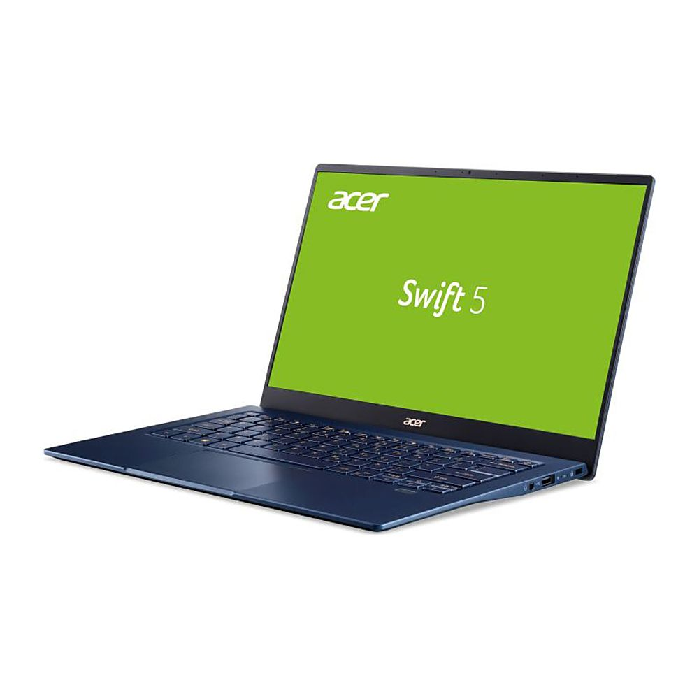 "Left Zoom. Acer - Refurbished 14"" Laptop - Intel Core i7 1065G7 - 16GB Memory - 1TB Solid State Drive - Black."