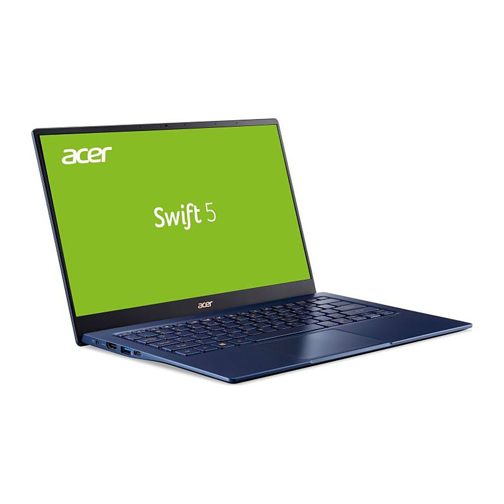 "Angle Zoom. Acer - Refurbished 14"" Laptop - Intel Core i7 1065G7 - 16GB Memory - 1TB Solid State Drive - Black."