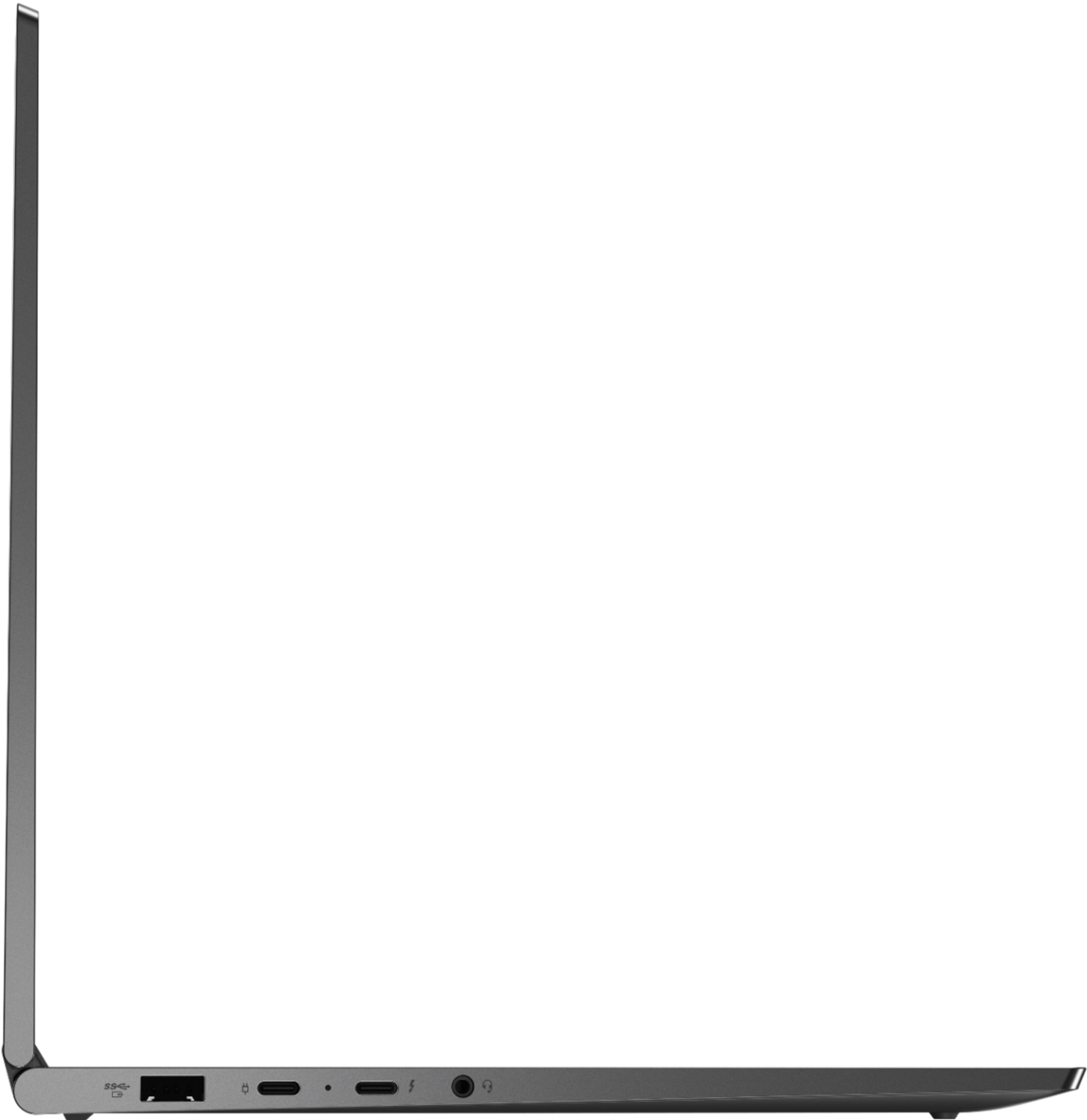 "Alt View Zoom 10. Lenovo - Geek Squad Certified Refurbished Yoga C940 2-in-1 14"" Laptop - Intel Core i7 - 12GB Memory - 512GB Solid State Drive - Iron Gray."