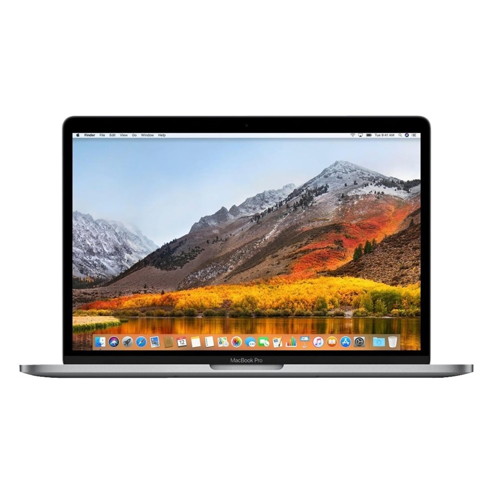 "Front Zoom. Apple - MacBook Pro 13.3"" Laptop - Intel Core i5 - 8GB Memory - 512GB SSD - Pre-Owned - Space Gray."