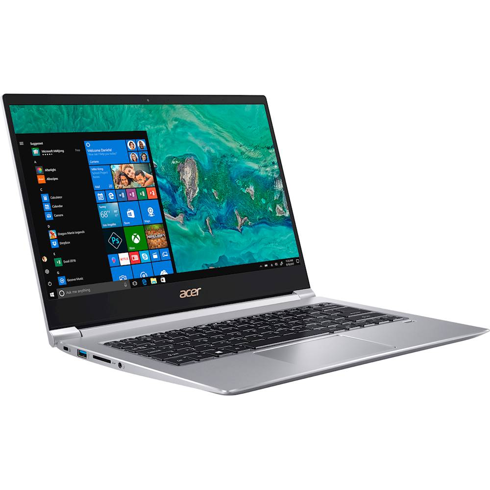 """Angle Zoom. Acer - Swift 3 14"""" Laptop - Intel Core i5 - 8GB Memory - 256GB Solid State Drive - Silver."""