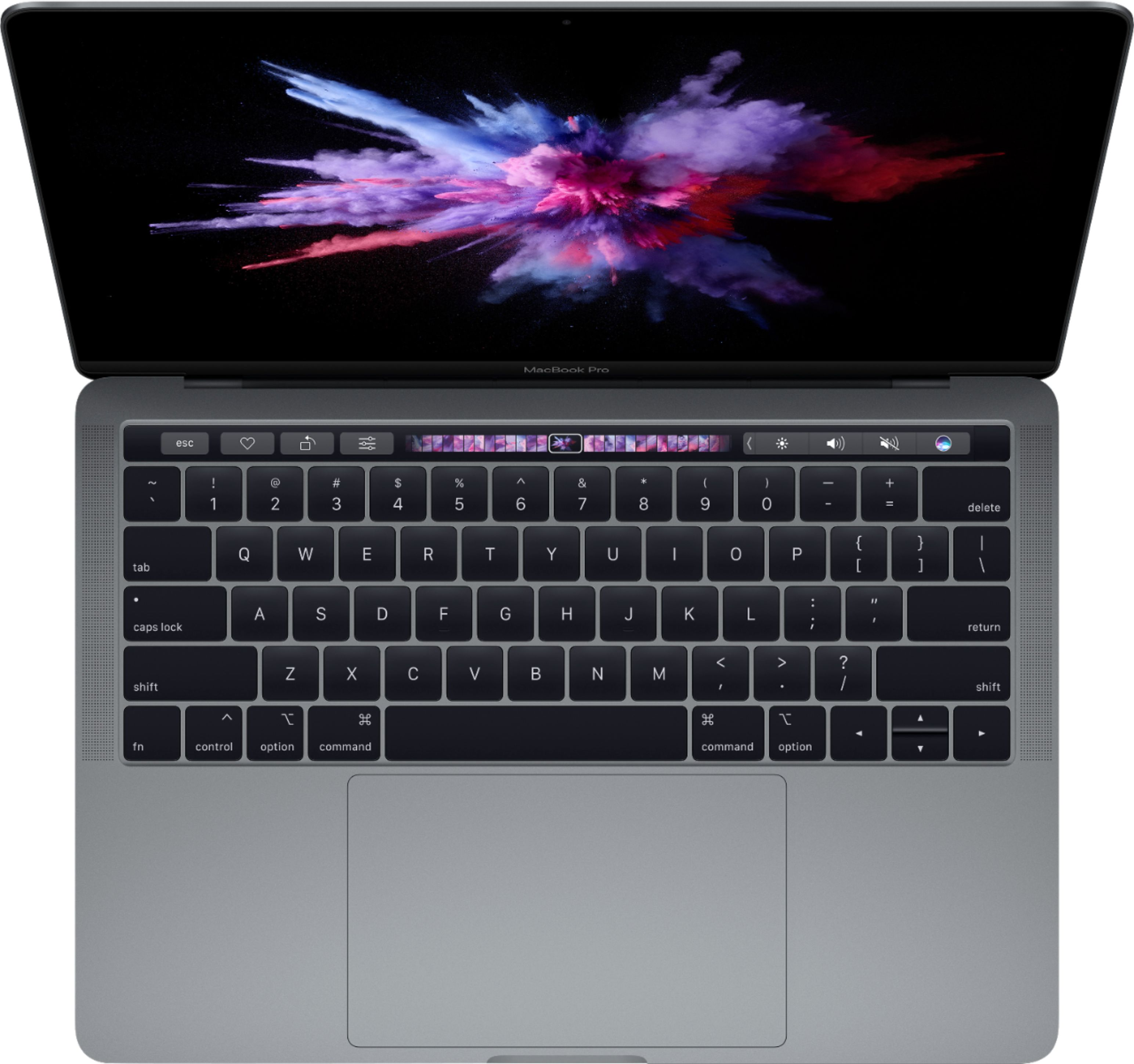 """Alt View Zoom 12. Apple - Geek Squad Certified Refurbished MacBook Pro - 13"""" Display with Touch Bar - Intel Core i5 - 8GB Memory - 128GB SSD - Space Gray."""