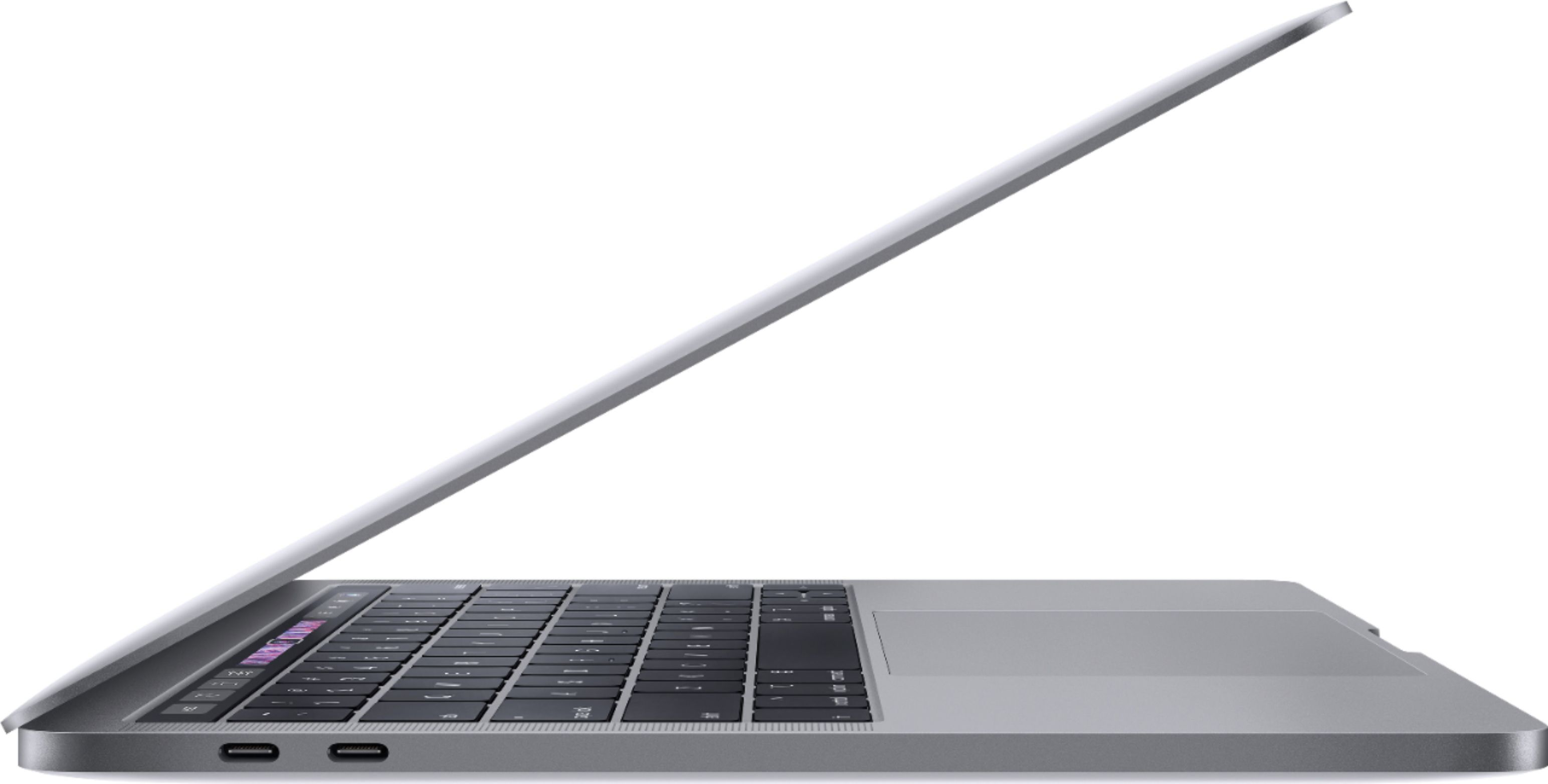 """Alt View Zoom 11. Apple - Geek Squad Certified Refurbished MacBook Pro - 13"""" Display with Touch Bar - Intel Core i5 - 8GB Memory - 128GB SSD - Space Gray."""