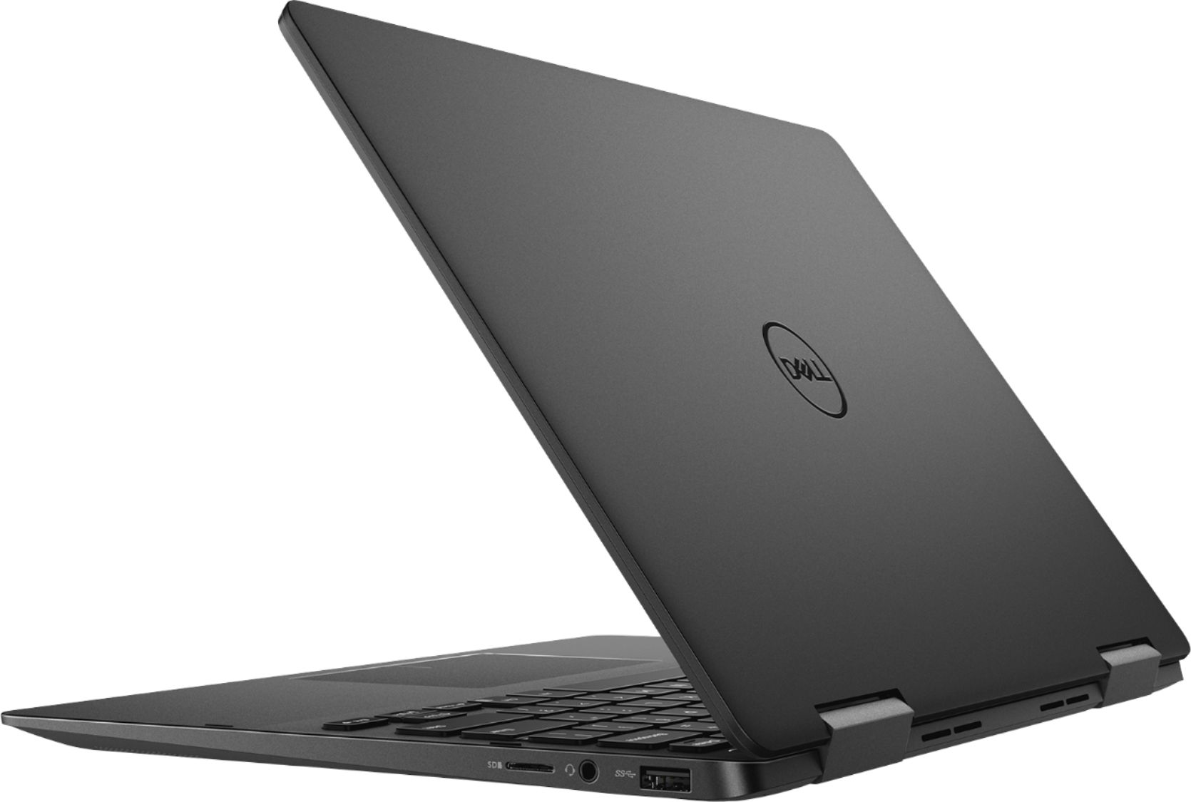 """Alt View Zoom 1. Dell - Geek Squad Certified Refurbished Inspiron 13.3"""" 4K Ultra HD Touch-Screen Laptop - Intel Core i7 - 16GB Memory- 256GB SSD - Black."""