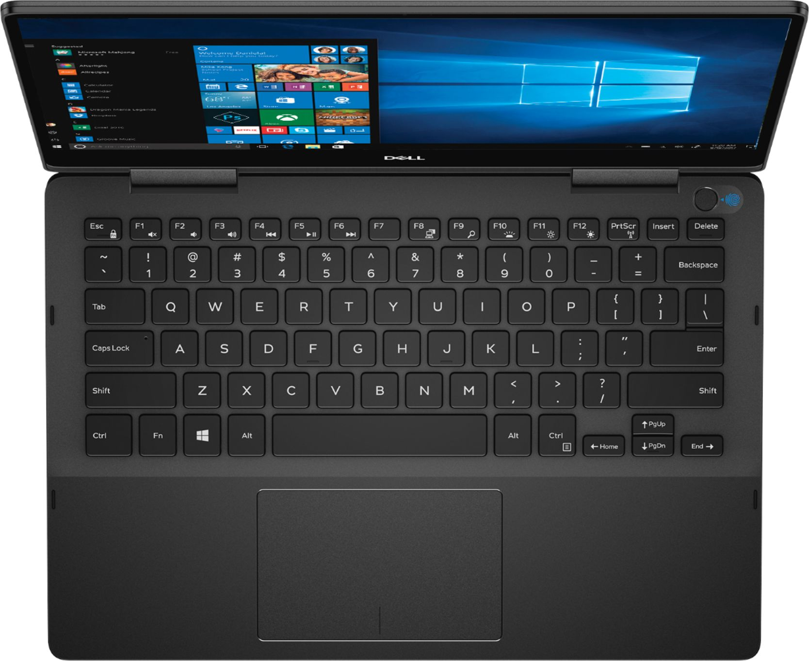 """Alt View Zoom 7. Dell - Geek Squad Certified Refurbished Inspiron 13.3"""" 4K Ultra HD Touch-Screen Laptop - Intel Core i7 - 16GB Memory- 256GB SSD - Black."""