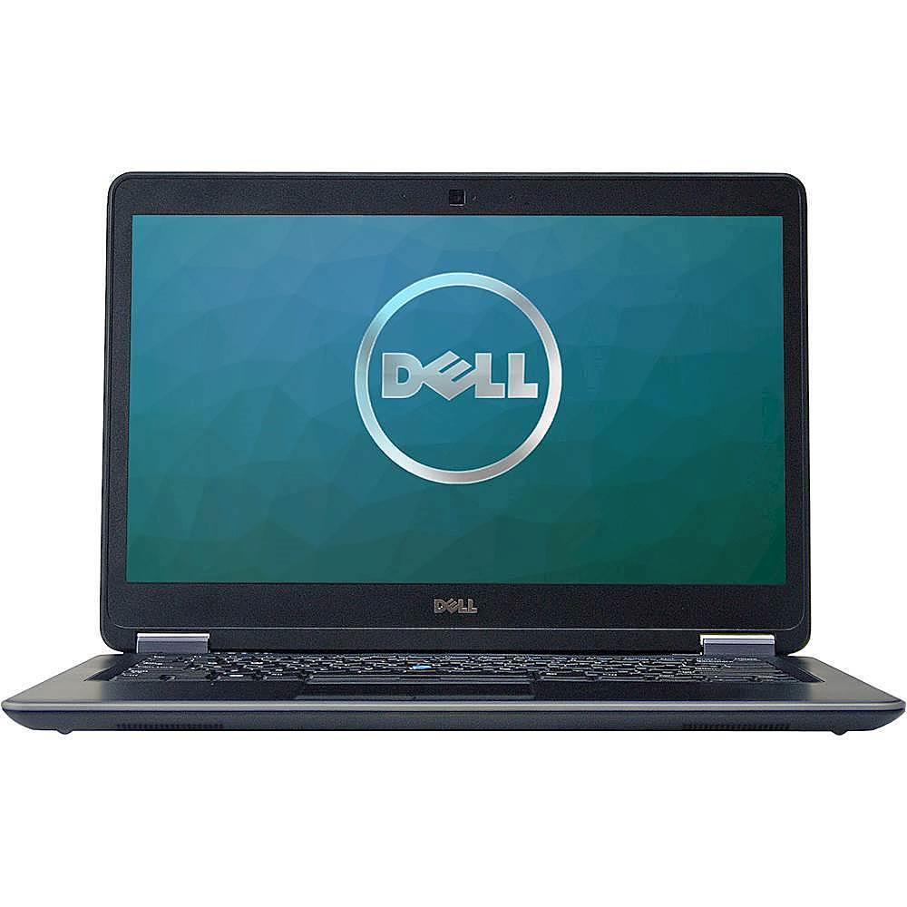 """Front Zoom. Dell - Latitude 14"""" Laptop - Intel Core i5 - 8GB Memory - 500GB Solid State Drive - Pre-Owned - Silver."""