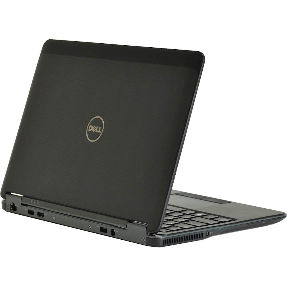 """Alt View Zoom 11. Dell - Latitude 12.5"""" Laptop - Intel Core i5 - 8GB Memory - 256GB Solid State Drive - Pre-Owned - Black."""