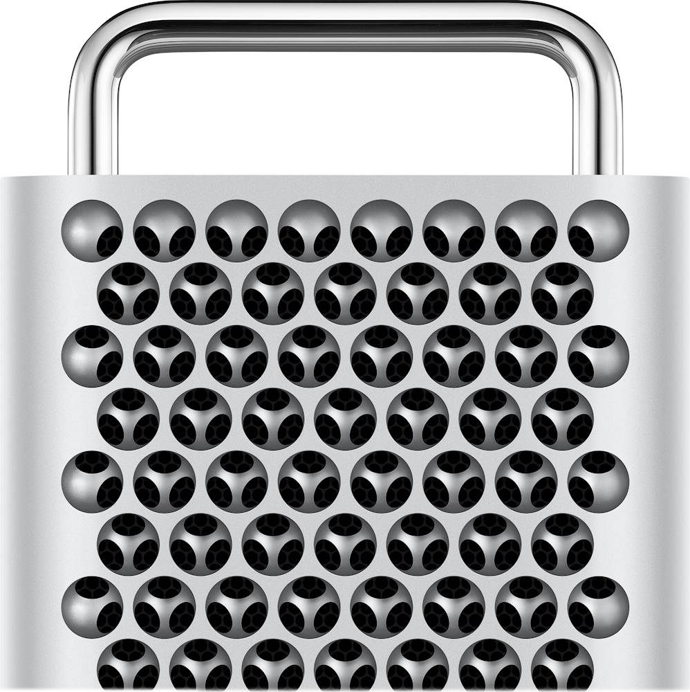 Alt View Zoom 11. Apple - Mac Pro Desktop - 16-core - Intel Xeon W - 192GB Memory - 2TB SSD - Silver.