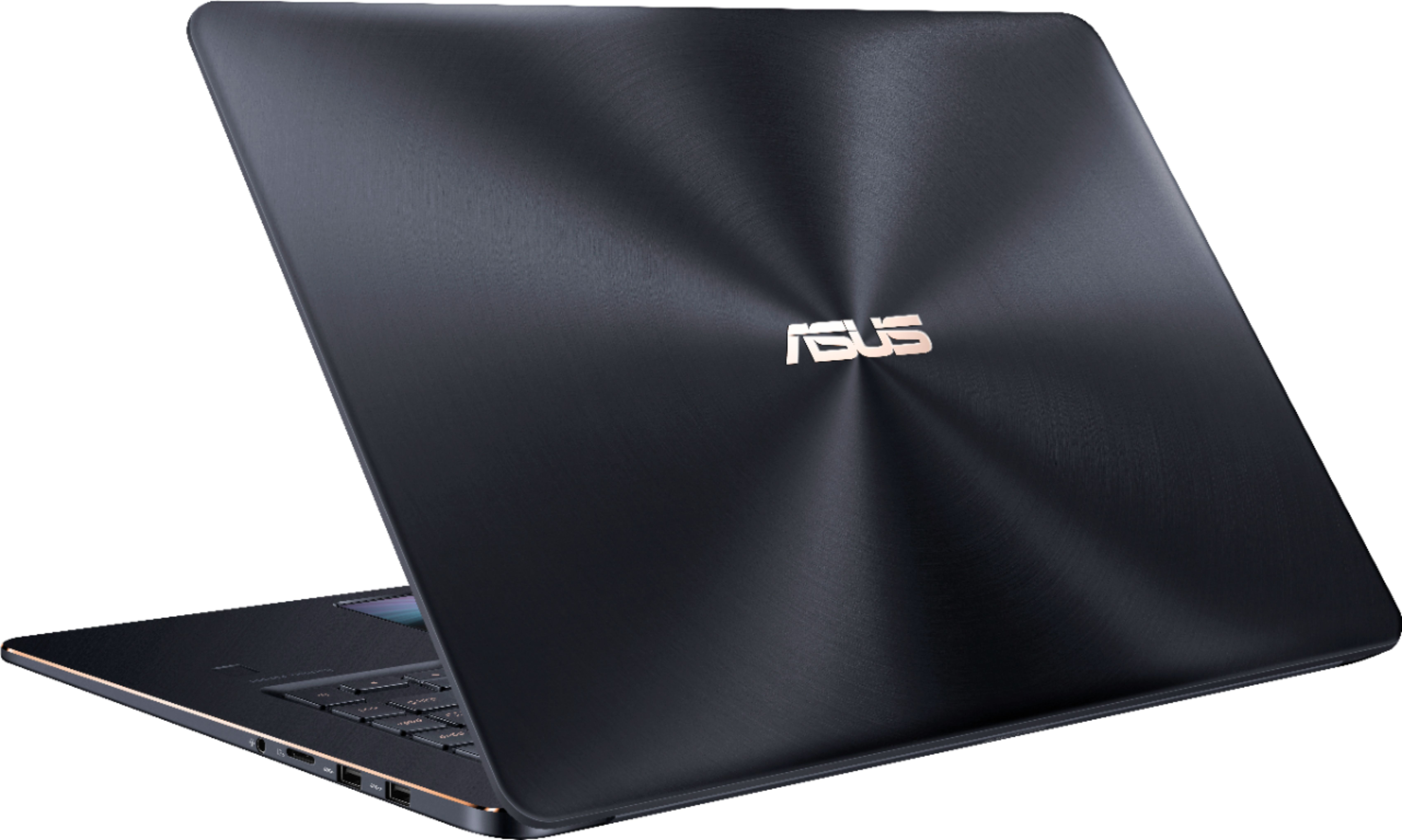 "Alt View Zoom 1. ASUS - Geek Squad Certified Refurbished 15.6"" Laptop - Intel Core i7 - 16GB Memory - NVIDIA GeForce GTX 1050 - 512GB SSD - Deep Dive Blue."