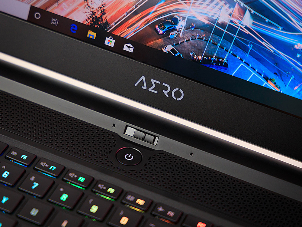 """Alt View Zoom 1. Gigabyte -  17.3"""" FHD Gaming Laptop - Intel Core i7 -  16GB - NVIDIA GeForce RTX 2070 Super With Max-Q - 512GB SSD."""