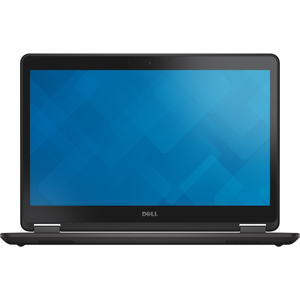 "Front Zoom. Dell - Latitude 14"" Laptop - Intel Core i5 - 8GB Memory - 256GB Solid State Drive - Pre-Owned - Black."