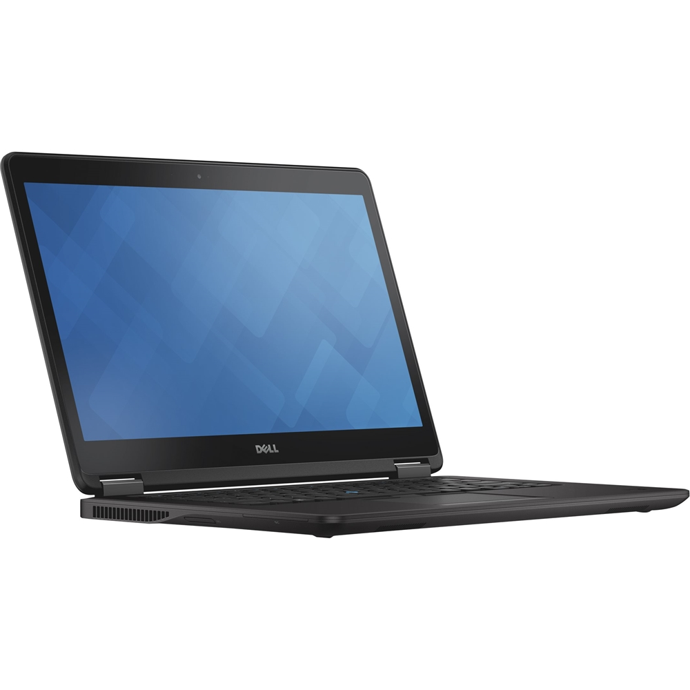 "Left Zoom. Dell - Latitude 14"" Laptop - Intel Core i5 - 8GB Memory - 256GB Solid State Drive - Pre-Owned - Black."