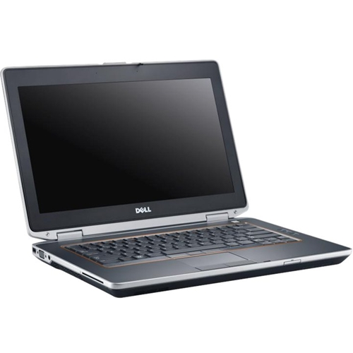 "Alt View Standard 12. Dell - Latitude 14"" Refurbished Laptop - Intel Core i5 - 8GB Memory - 128GB Solid State Drive - Gray."