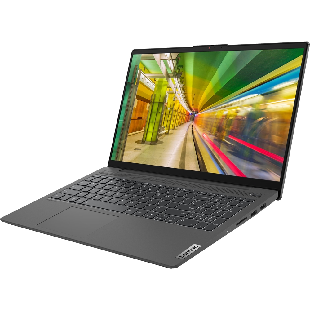 "Alt View Zoom 12. Lenovo - IdeaPad 5 15IIL05 15.6"" Laptop - Intel Core i5 - 8GB Memory - 256GB SSD - Platinum Gray."