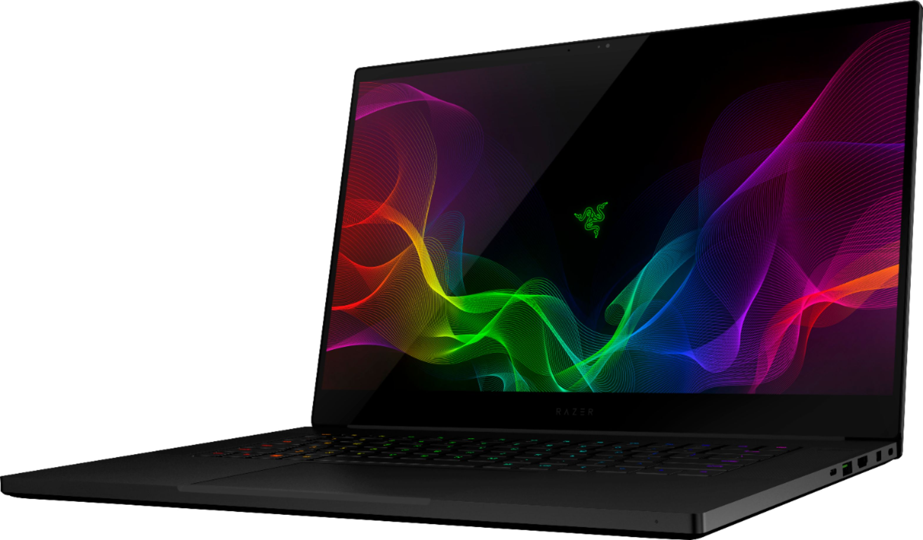 "Left Zoom. Razer - Geek Squad Certified Refurbished 15.6"" Gaming Laptop - Intel Core i7 - 16GB Memory - NVIDIA GeForce GTX 1060 - 512GB SSD - Black CNC Aluminum."