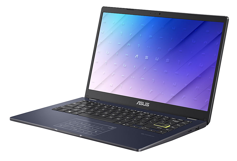 "Left Zoom. Asus L410 L410MADB02 14"" Notebook -HD - 1920 x 1080 - Intel Celeron N4020 1.10 GHz - 4 GB RAM - 64 GB Flash Memory."
