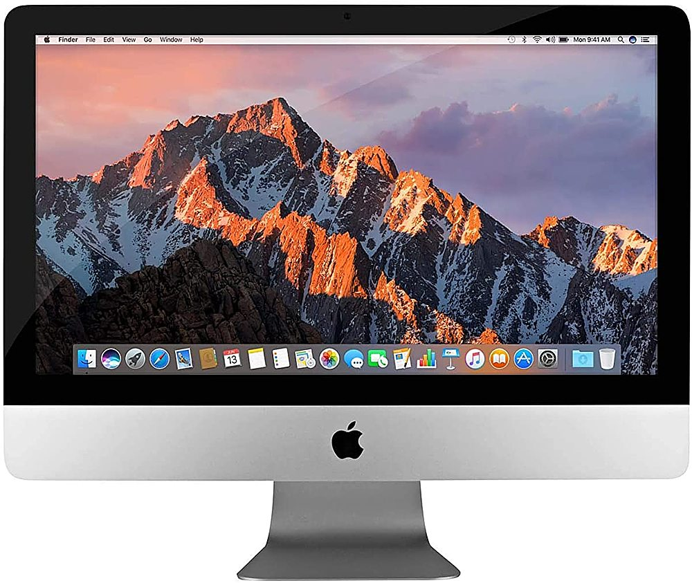 "Alt View Zoom 2. Pre-Owned Apple - 27"" iMac - Intel Core i5 (3.2GHz) - 8GB Memory - 1TB Hard Drive - Silver."