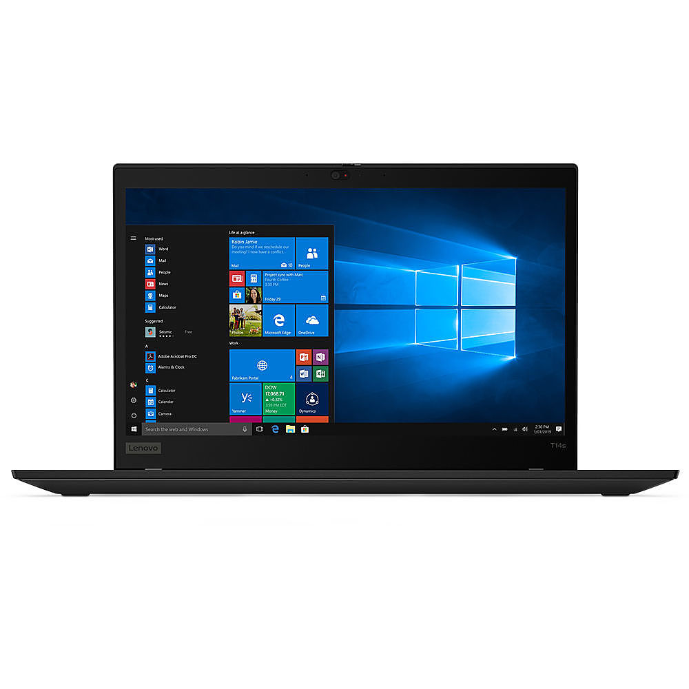 "Front Zoom. Lenovo - 14"" ThinkPad T14s Gen 1 Laptop - 16GB Memory - Intel Core i5 - 512GB Hard Drive."