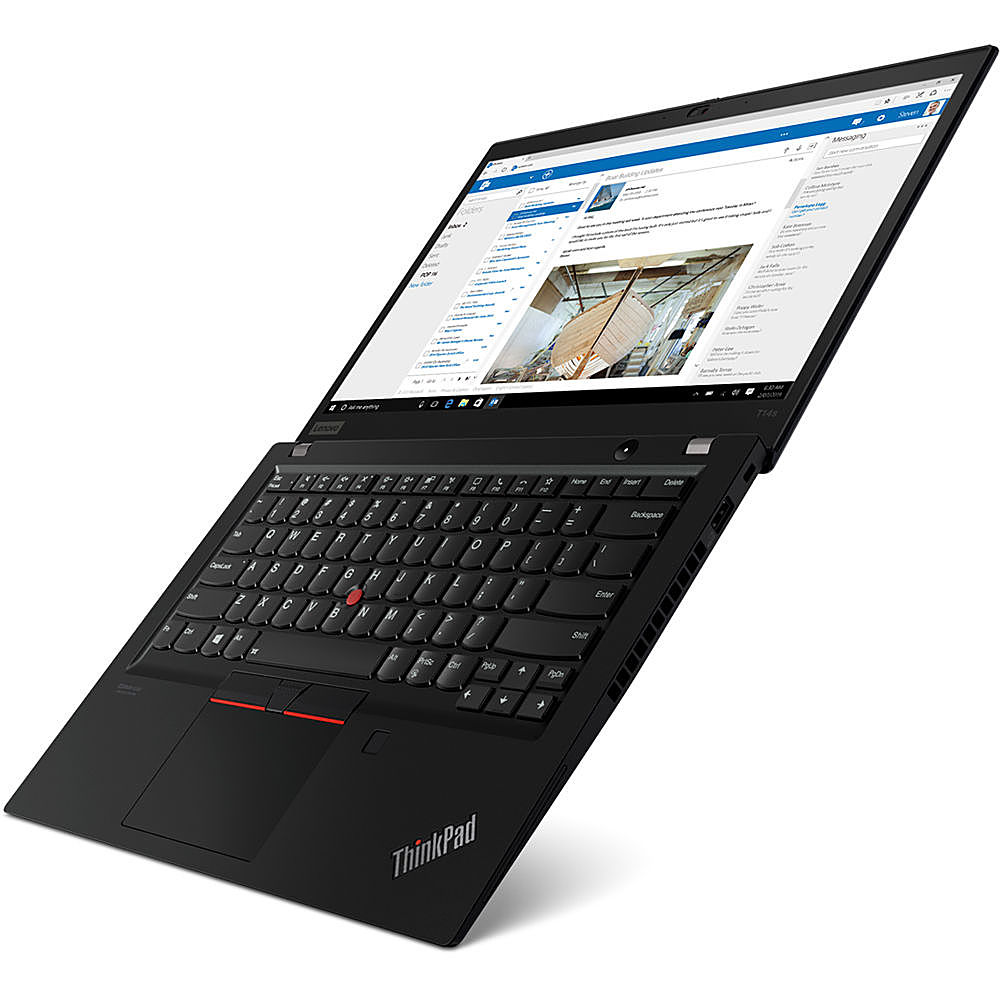 "Left Zoom. Lenovo - 14"" ThinkPad T14s Gen 1 Laptop - 16GB Memory - Intel Core i5 - 512GB Hard Drive."