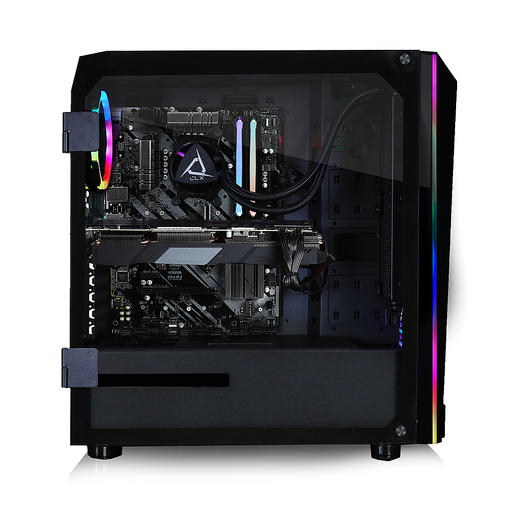 Alt View Zoom 6. CLX - SET Gaming Desktop - Intel Core i9 10850K - 16GB Memory - NVIDIA GeForce RTX 3080 - 2TB HDD + 480GB SSD - Black.