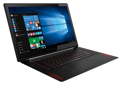 """Alt View Standard 12. HP - Omen 15.6"""" Touch-Screen Laptop - Intel Core i7 - 8GB Memory - 256GB Solid State Drive - Black."""