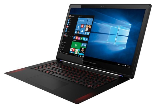 """Alt View Standard 11. HP - Omen 15.6"""" Touch-Screen Laptop - Intel Core i7 - 8GB Memory - 256GB Solid State Drive - Black."""