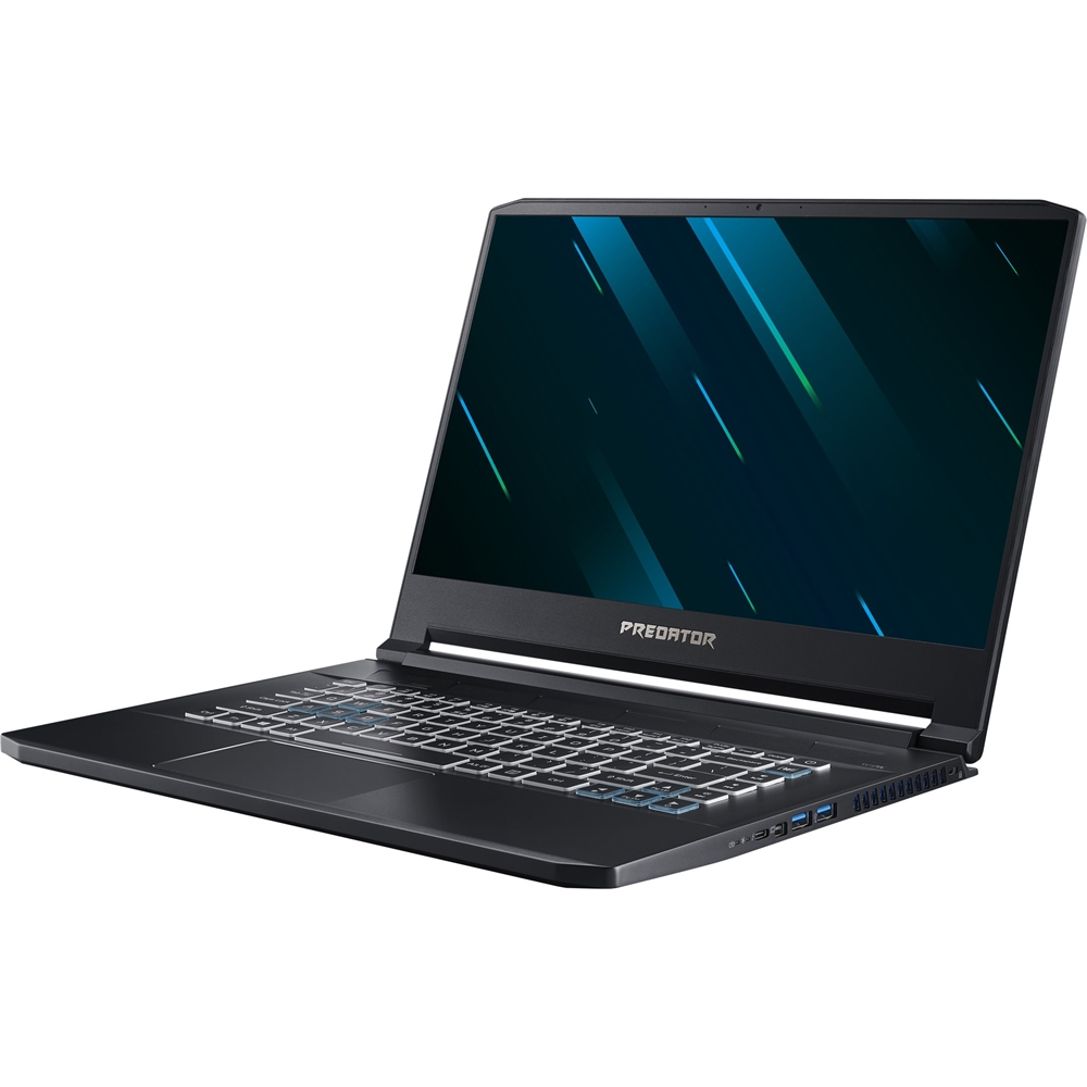 """Alt View Zoom 11. Acer - Triton 500 15.6"""" Gaming Laptop - Intel Core i7 - 16GB Memory - NVIDIA GeForce RTX 2060 - 512GB Solid State Drive - Aby Black."""