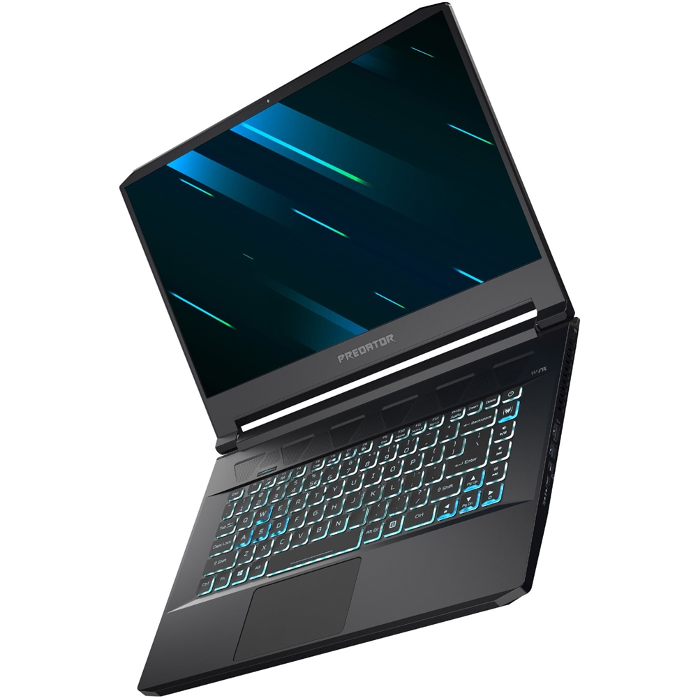 """Alt View Zoom 12. Acer - Triton 500 15.6"""" Gaming Laptop - Intel Core i7 - 16GB Memory - NVIDIA GeForce RTX 2060 - 512GB Solid State Drive - Aby Black."""