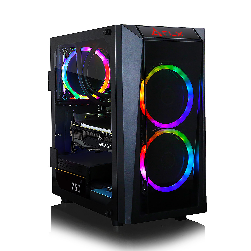Front Zoom. CLX - SET Gaming Desktop - AMD Ryzen 9 5900X  - 16GB Memory - GeForce RTX 3060 Ti - 240GB SSD + 2TB HDD.